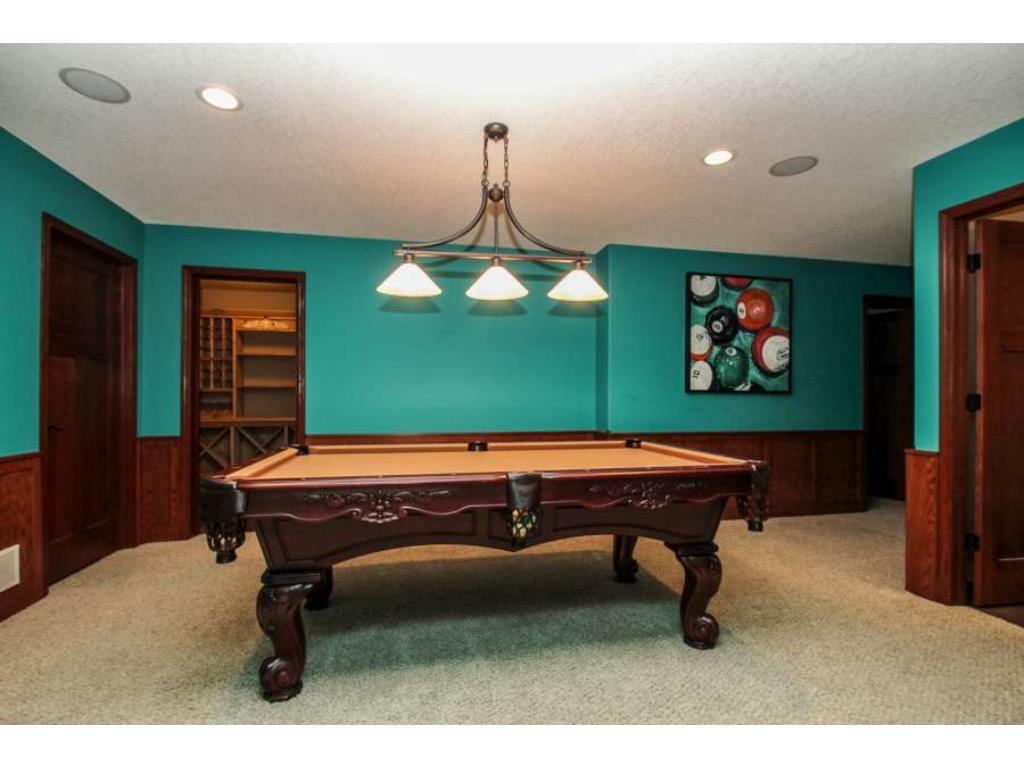 A room built for the billiard table!