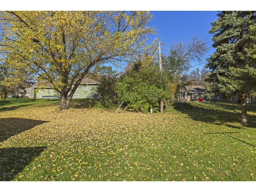 Irrigation system was new in 2014.  Nice size corner lot close to parks, trails, shopping, schools