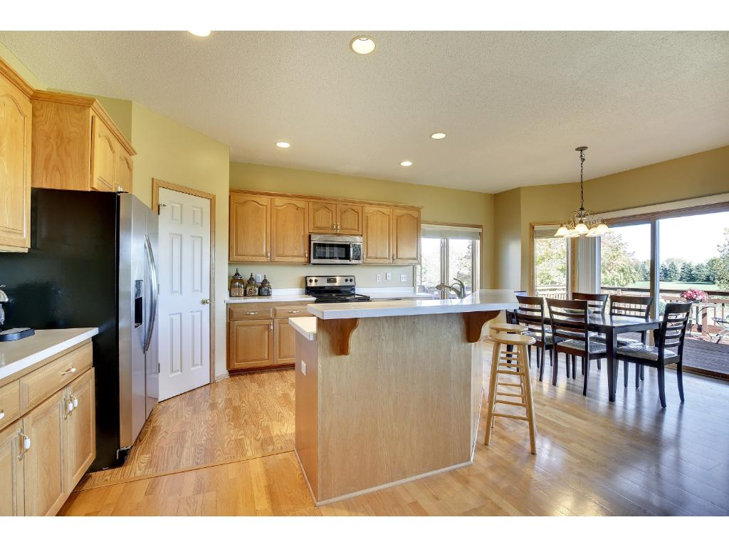 Walk in pantry, lots of storage, enjoy your party in this open layout!