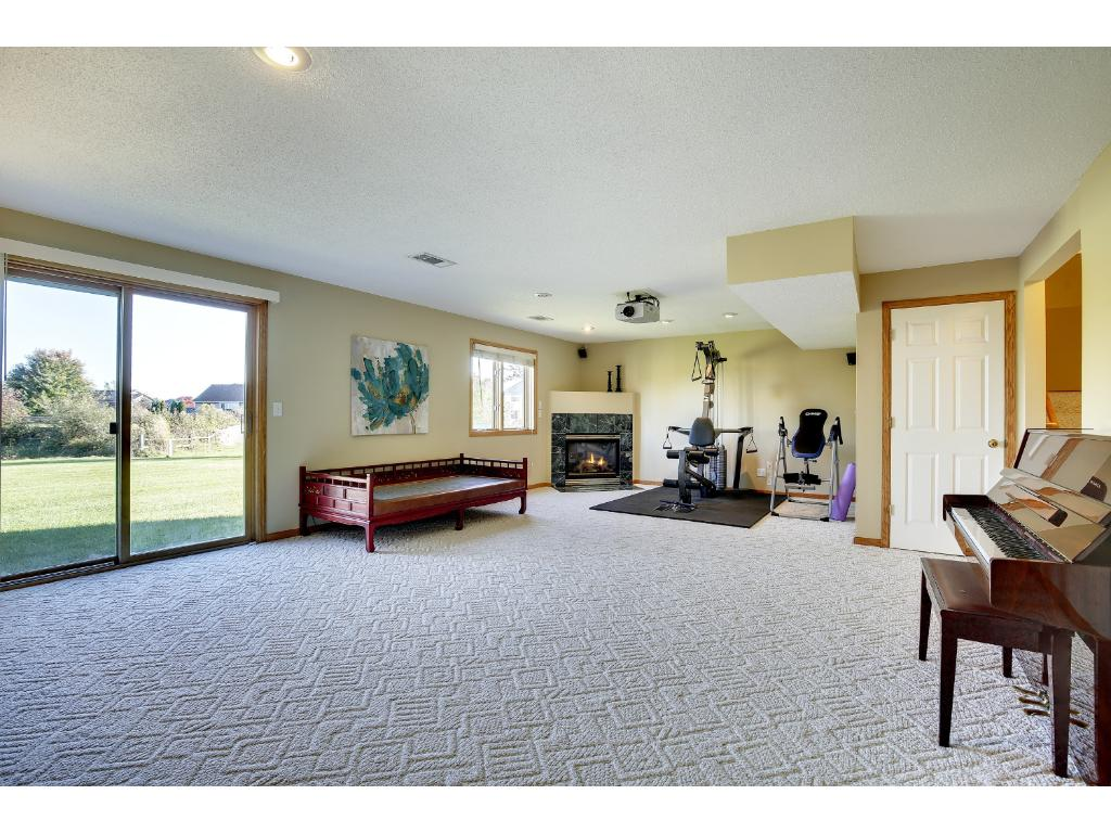 Bright and spacious walk out basement!