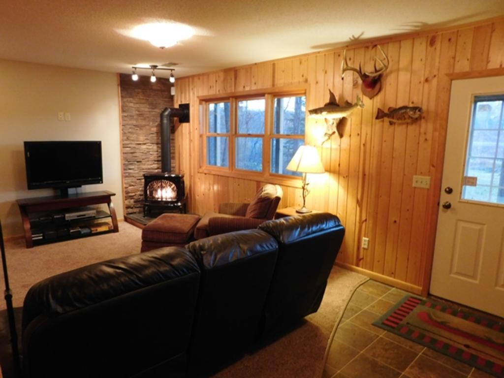 Lowe level living room