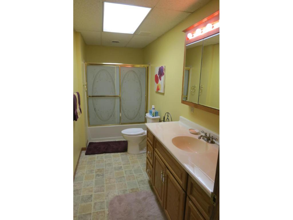Lower Level Full Bath.