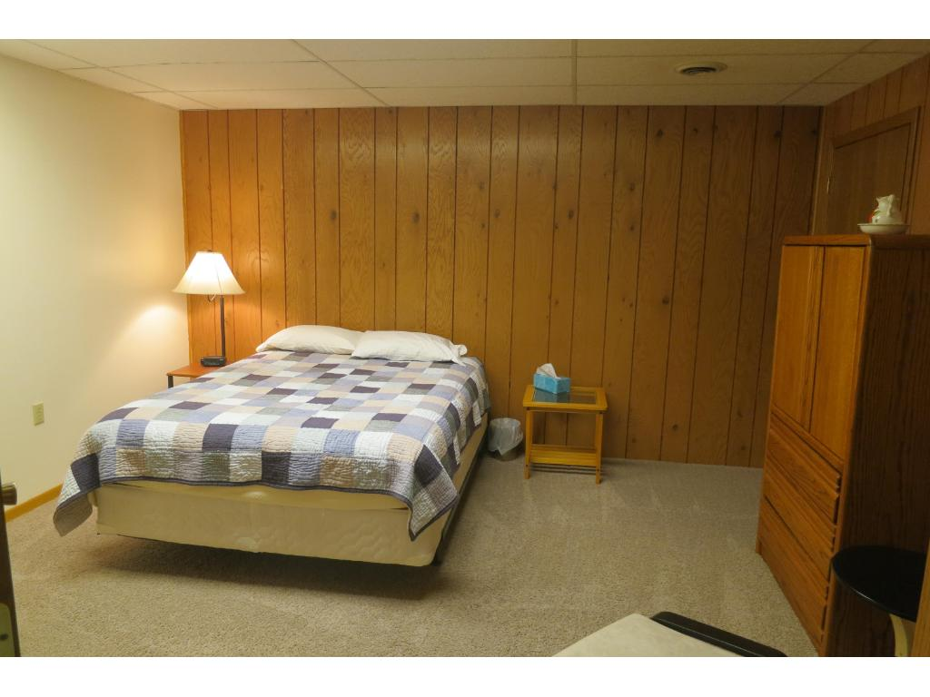 Lower Level Non Conforming Bedroom.