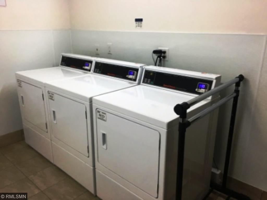 New Laundry Room, 3 Commercial Washers and Dryers, Card Activated