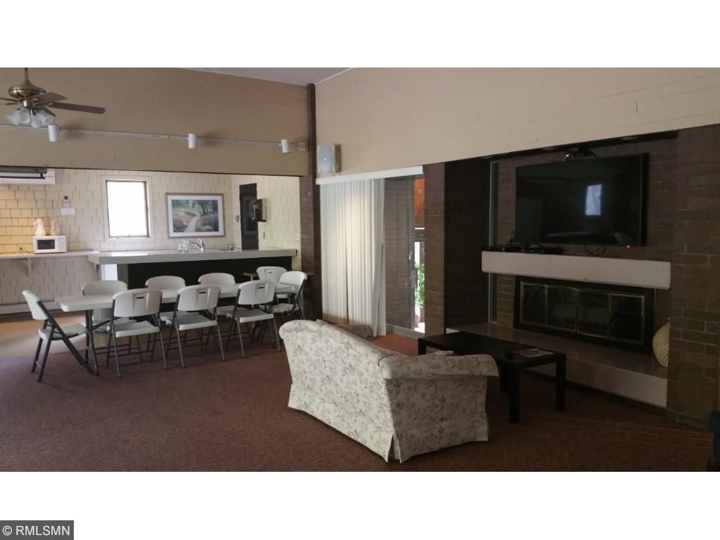 The party and community room. Book a special meeting or family gathering in this wonderful spacious room.