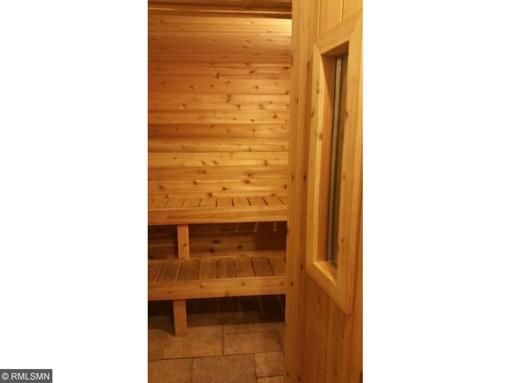 The Dry Finnish Sauna will take any Minnesota winter chill from your bones.