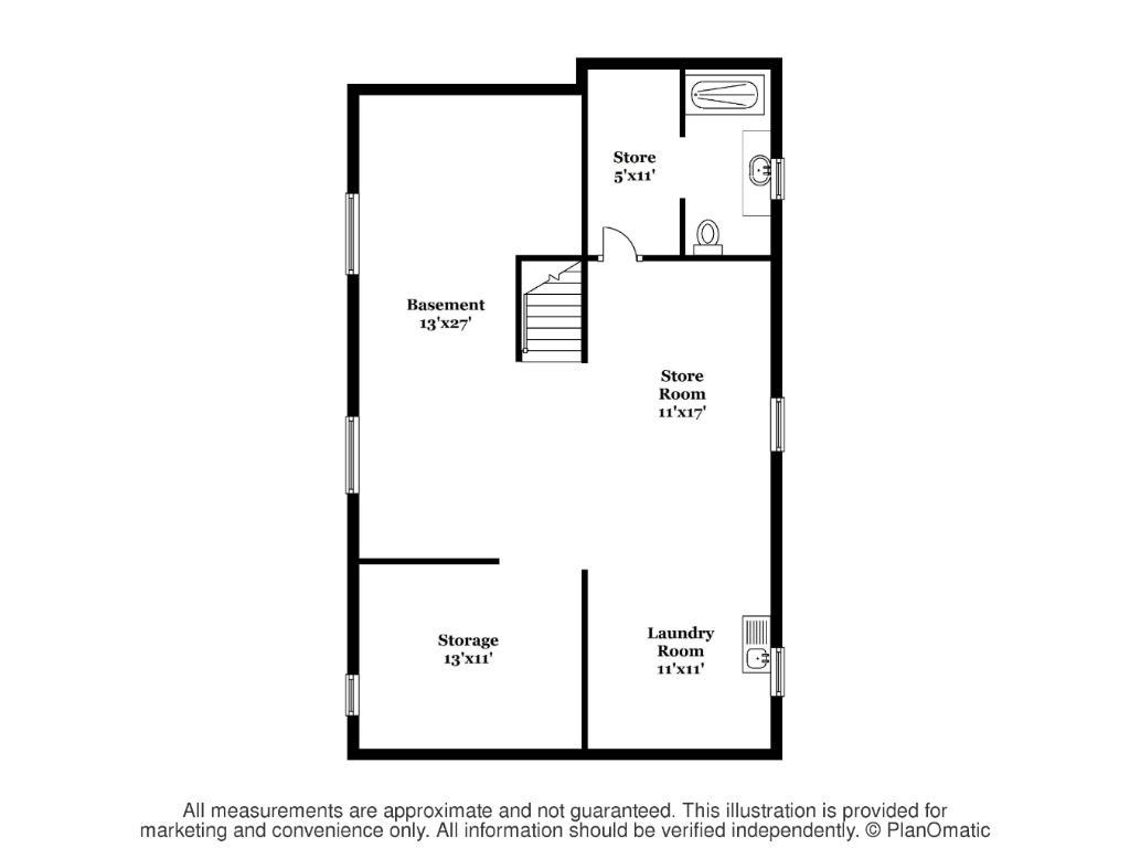 Basement floorplans