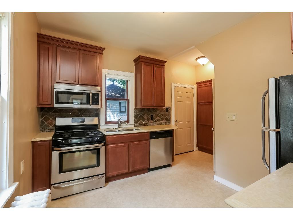 Wonderfully updated kitchen