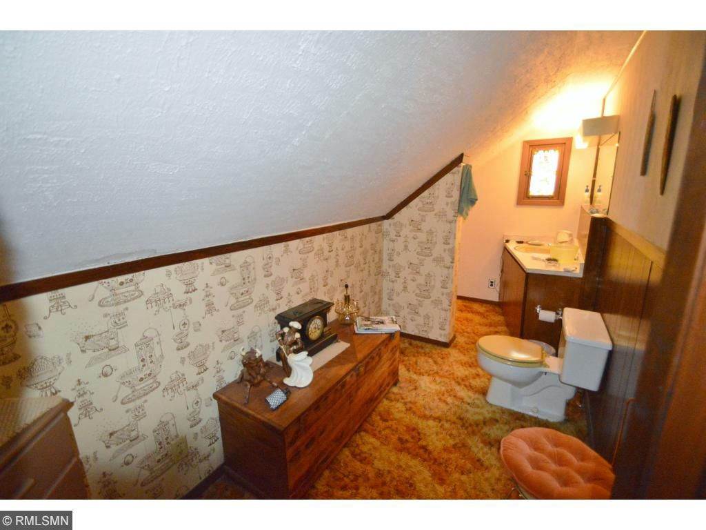 Half bathroom upstairs