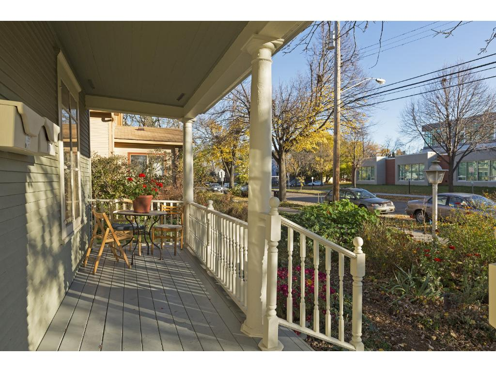 Open front porch