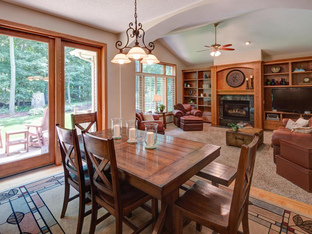 Come inside and experience the lovely main floor gathering and entertaining spaces.