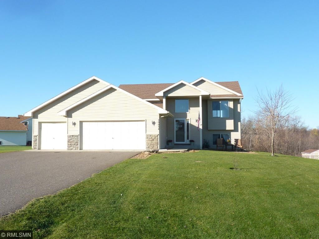 Excellent condition 4 bedrooms, 2 bathrooms, 3 car heated garage located on huge lot!