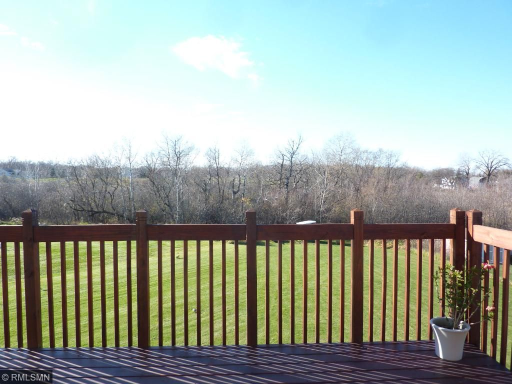 Great setting on over 1/2 acre lot!