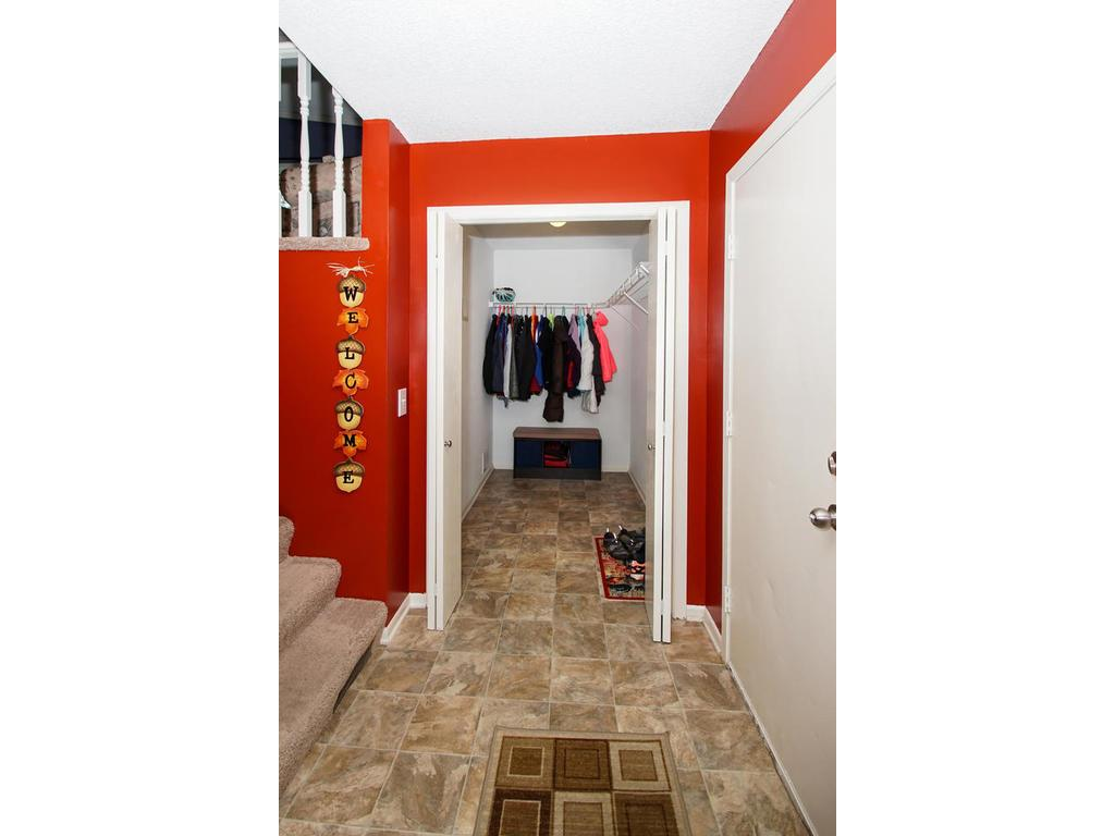 This sizable storage closet in the entryway is perfect for coats, shoes, bikes, outdoor equipment - anything you need to keep on hand for your busy life.