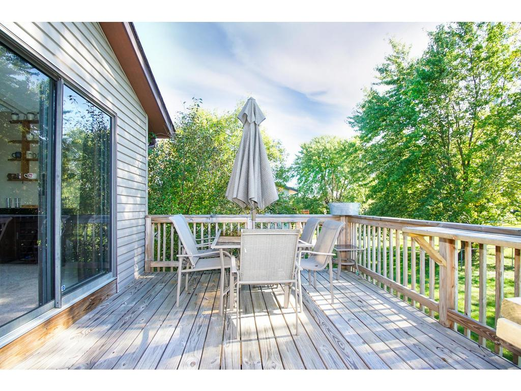 Your deck offers the perfect place to relax, grill out, entertain, or just watch the sun go down on a beautiful fall evening.