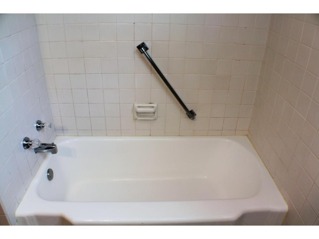 Tub in the main floor full bath.  Impeccable condition!