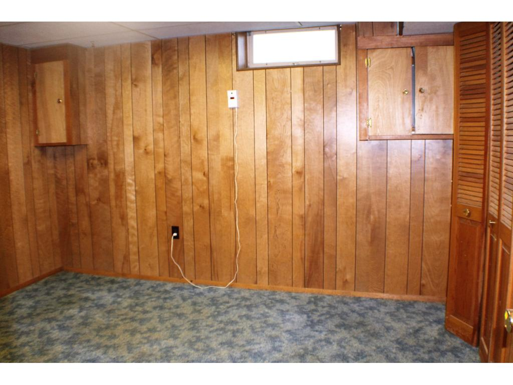 Non-conforming basement bedroom, just add egress and you are all set!