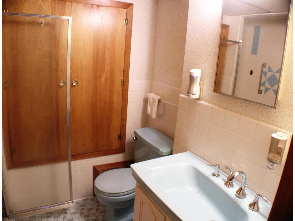 3/4 bath in the basement.