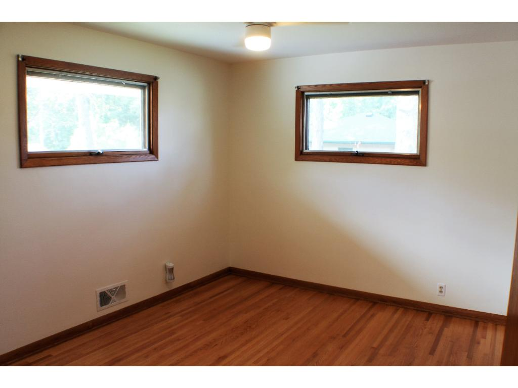 Big master bedroom, large closet