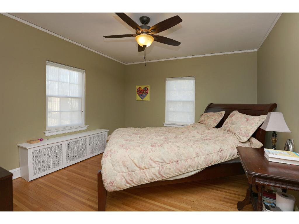 2nd floor master bedroom - fans in each bedroom