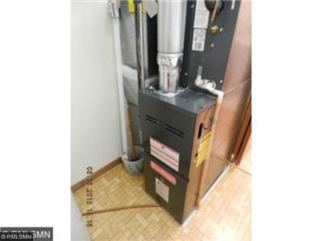 Newer furnace less than 5 years old.