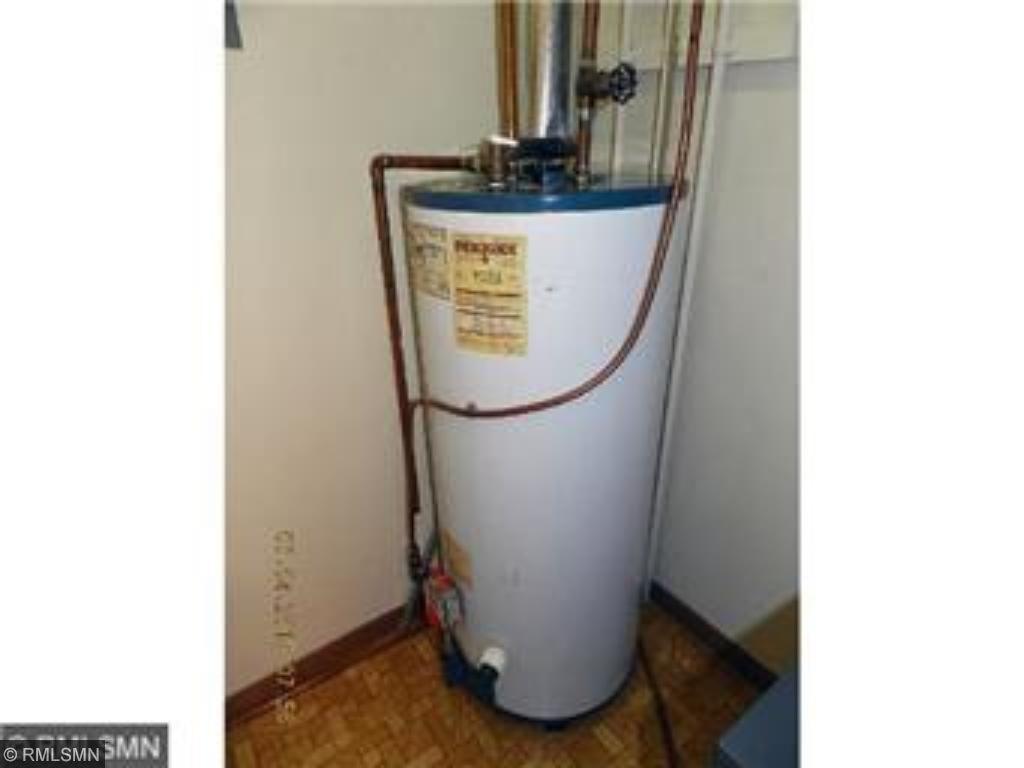 Water heater newer.