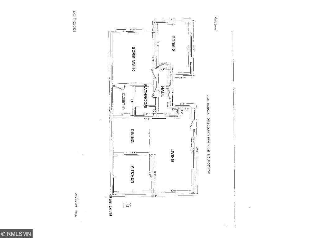 floor plan for 2972 highway 10