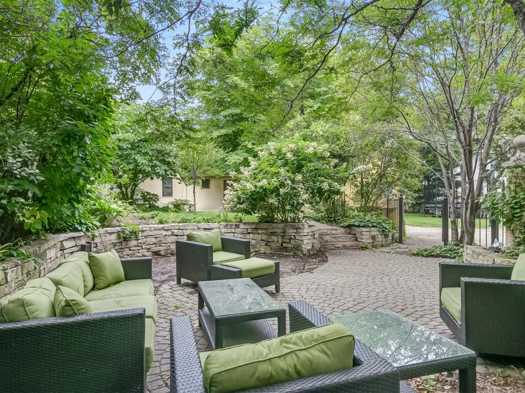 An addition to the yard is the spacious patio where you can admire the beautifully landscaped yard. A nice little retreat!