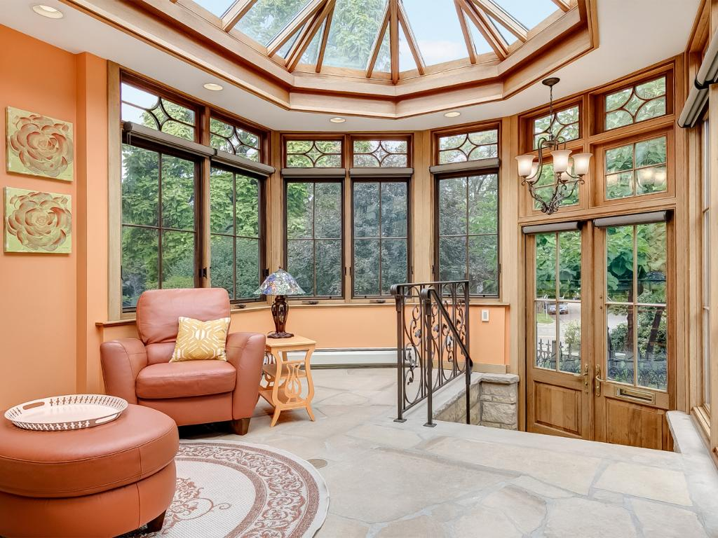 Guests will be amazed once they walk through the conservatory that has both heat and AC to enjoy all year round.