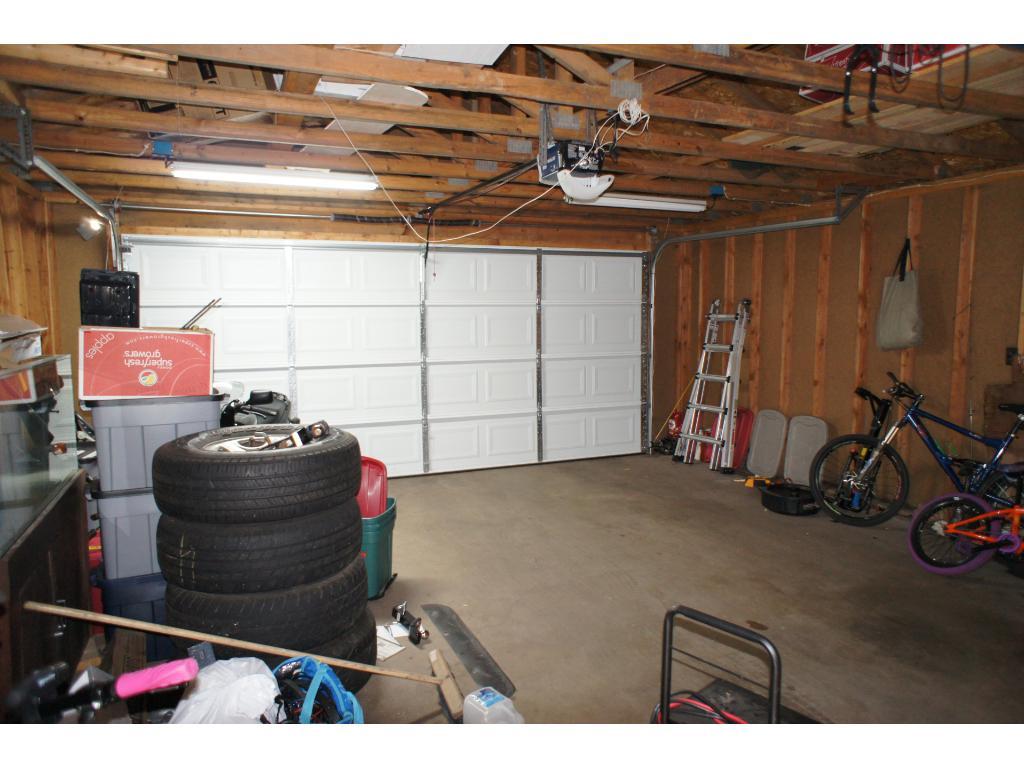 Newer construction 2 car garage.