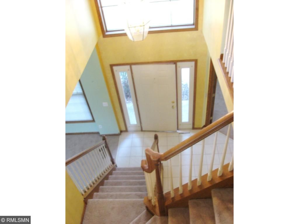 2 Story Foyer double sidelight and open to staircase