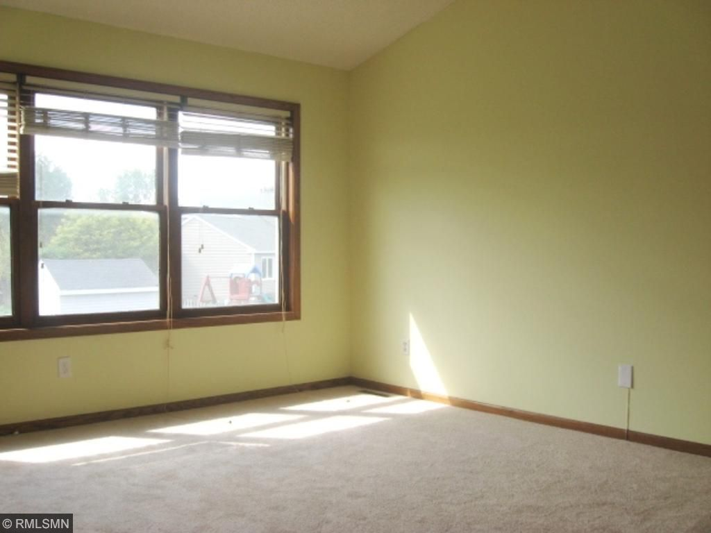 Master Bedroom with new carpet and paint