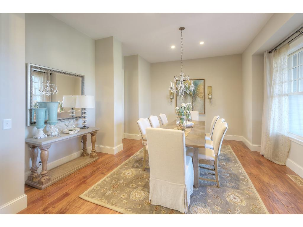 Beautiful formal dining room