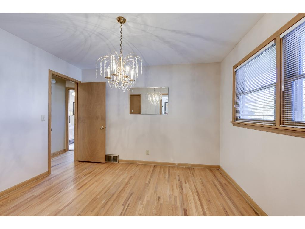 Bedroom 3 or this space could be used as a formal dining room. Great multi functional space!