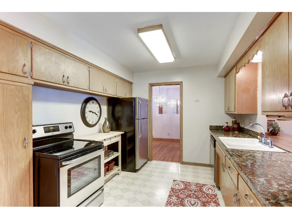 All new stainless appliances, a pantry and plenty of storage make this home move in ready.