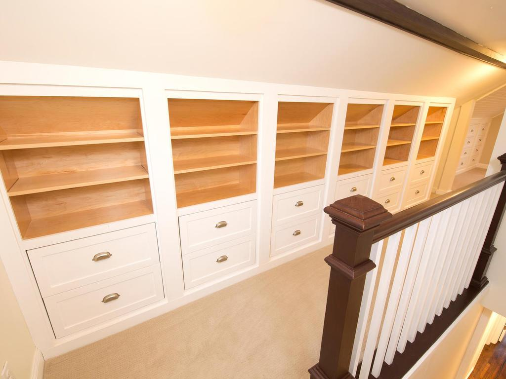 Custom built-ins through out master suite