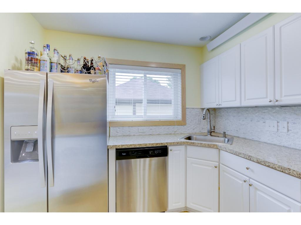 Kitchen window allowing for extra light