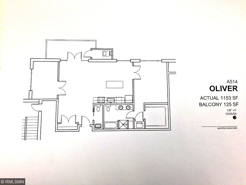Top-floor, highly sought after Oliver floorplan. 1 bedroom + den, 2 bathrooms, large private balcony!