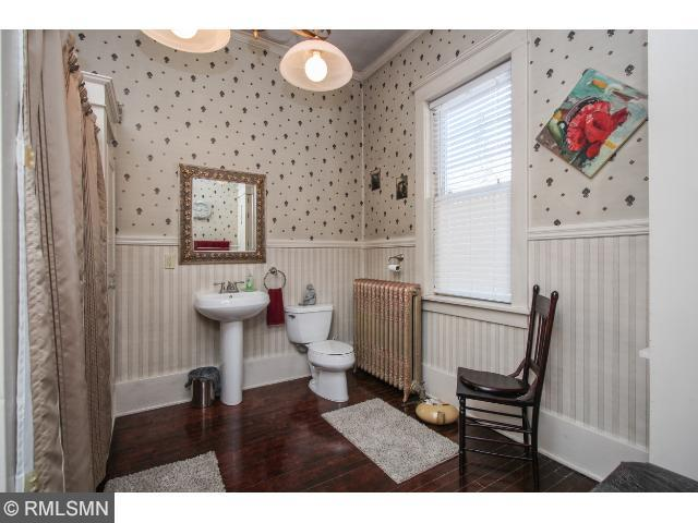 Main floor full bathroom.