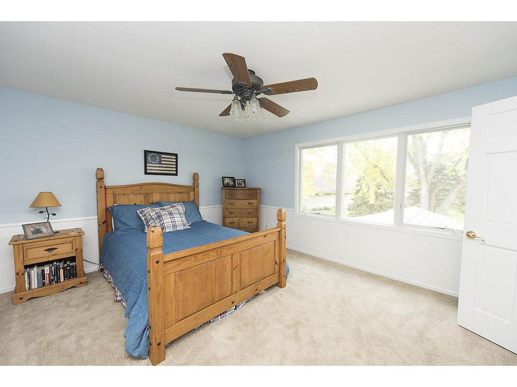 Upper level is amazing - three bedrooms on one level, cedar closet, more storage and office area!