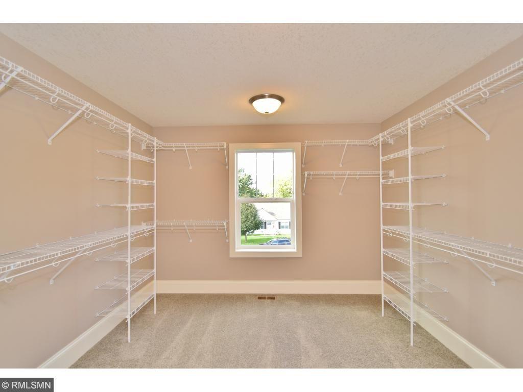 Huge 13'x12' walk-in closet!