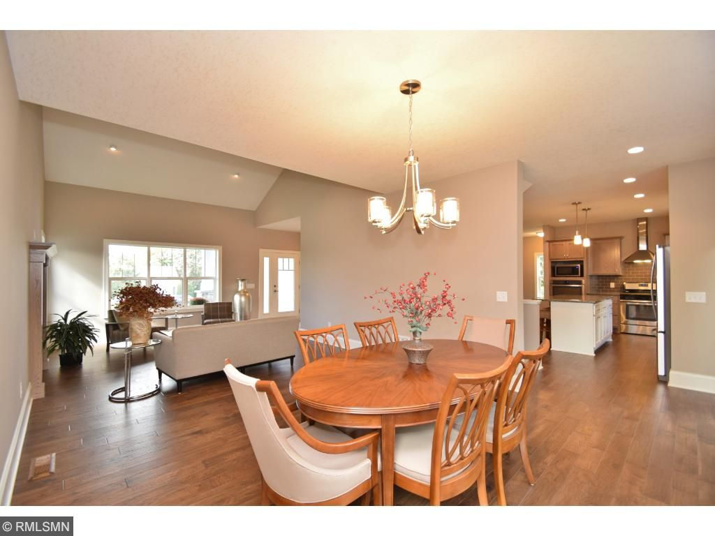 Views of living/dining and into kitchen!