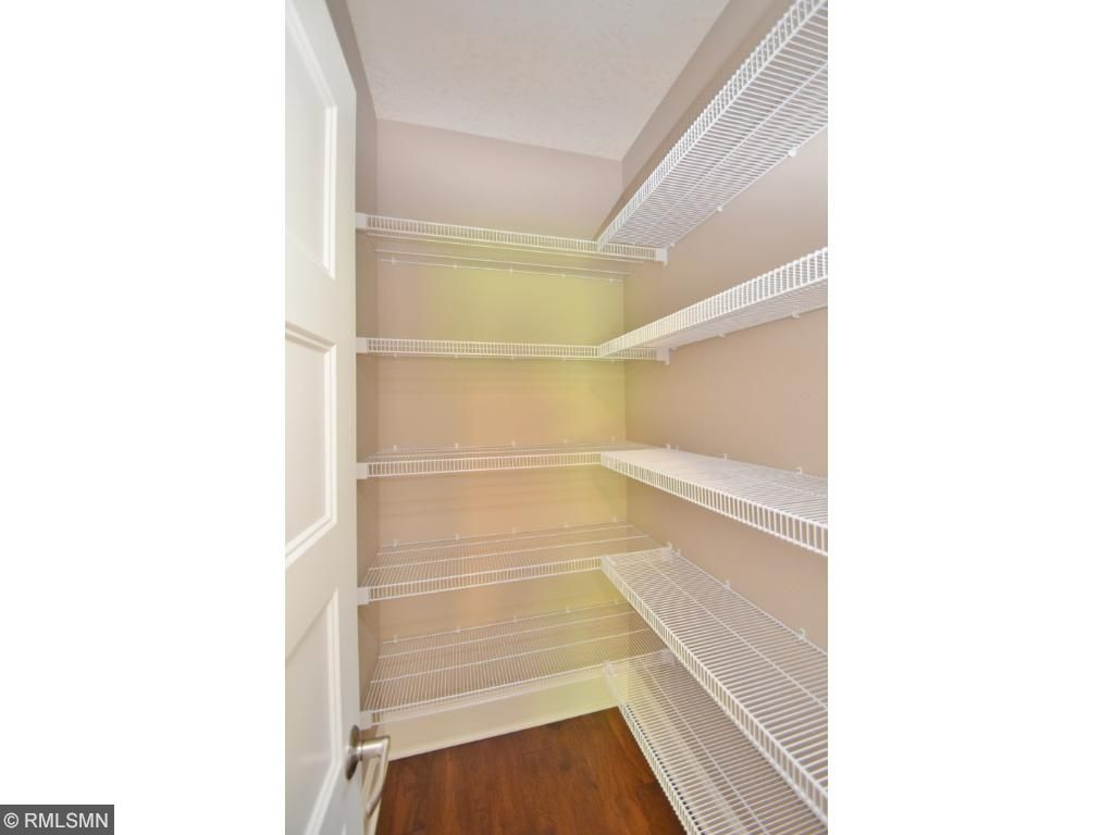 Walk-in pantry to organize all!