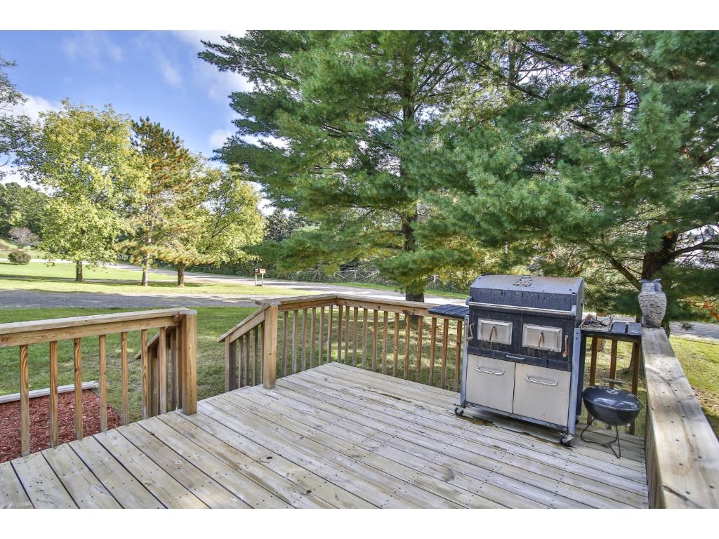 Great deck and large yard for entertaining