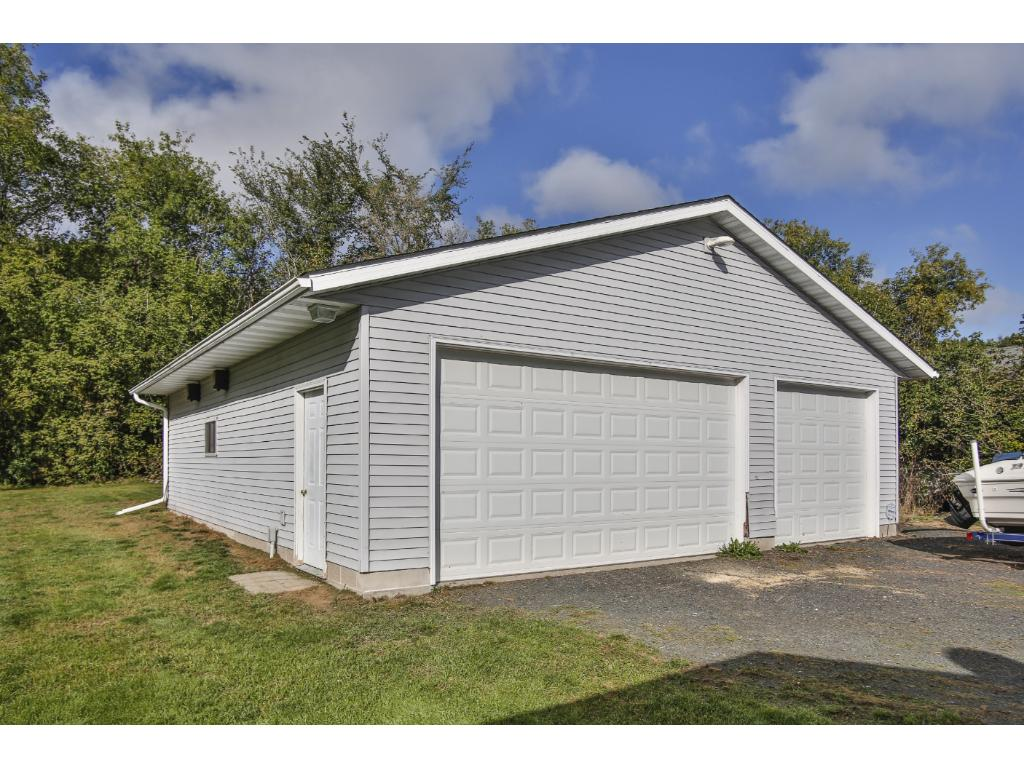 Insulated and heated garage