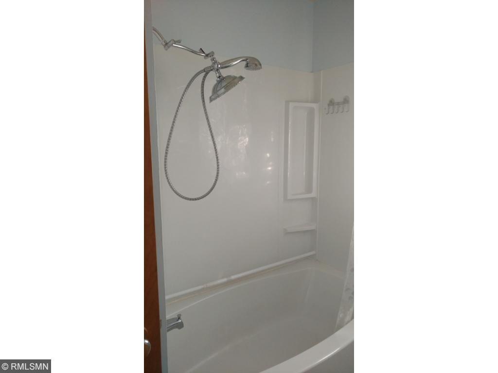 New soaking tub