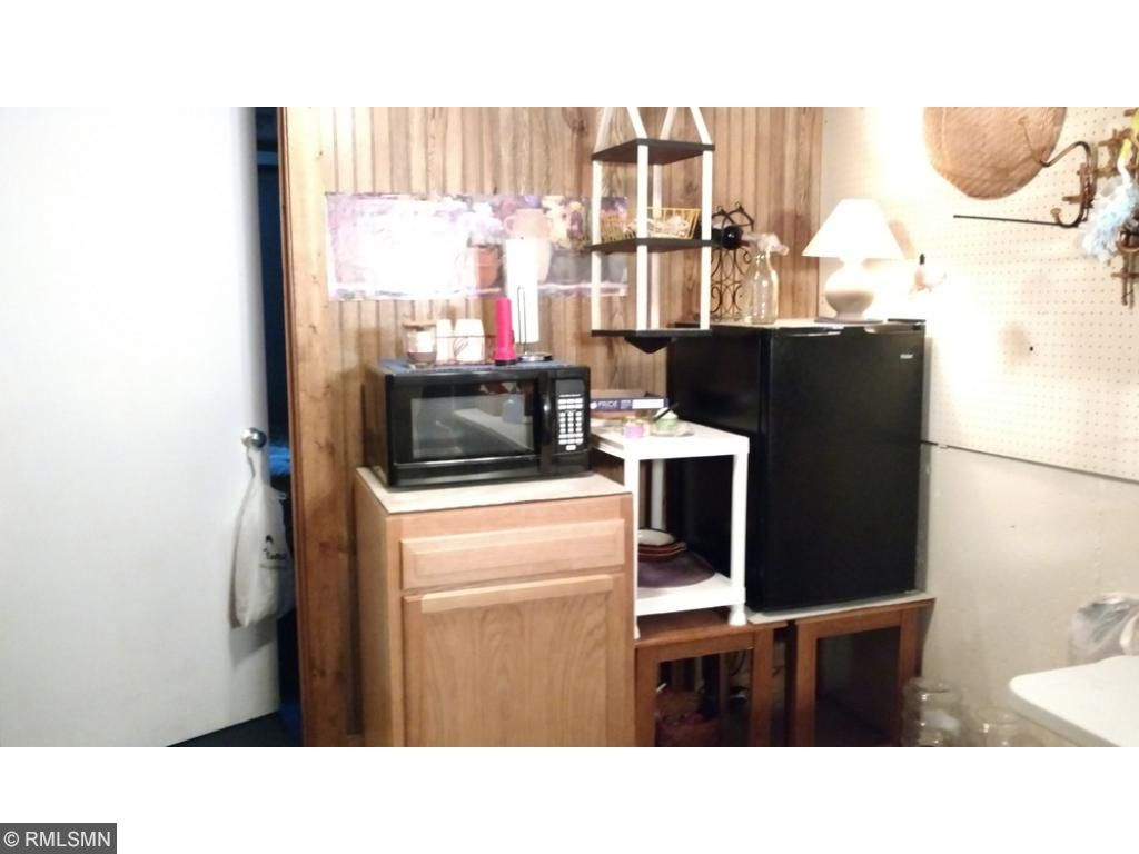 There's room in the basement for a kitchenette.
