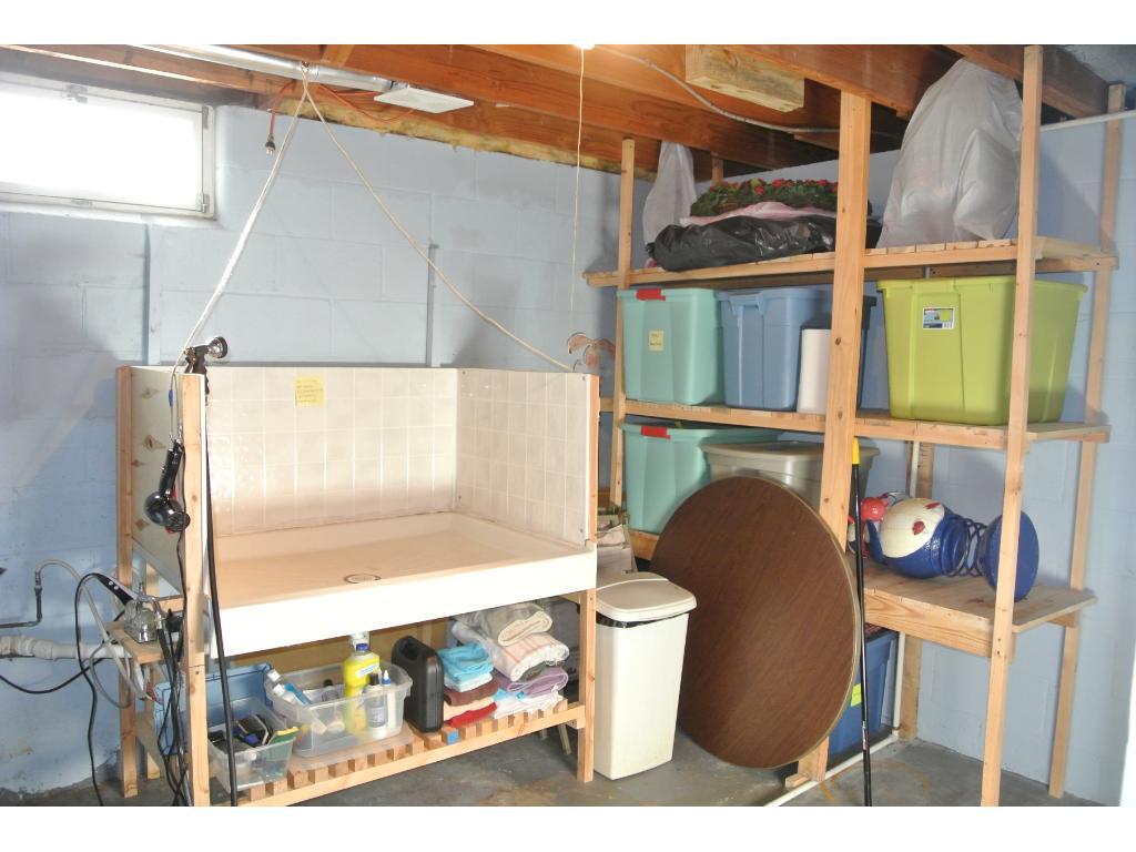 Dog Wash/Storage/Utility Room