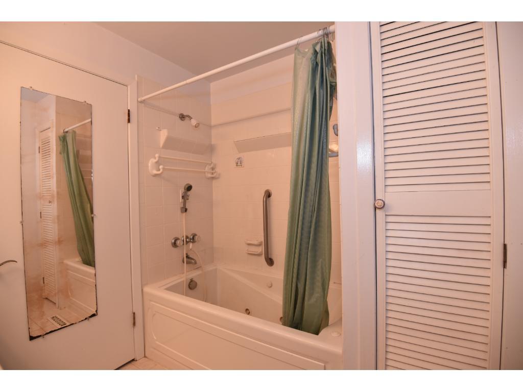 Whirlpool tub/shower