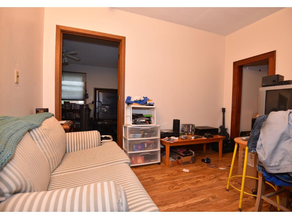 Non conforming second pass through bedroom (no window) or small study/office/tv room off conforming bedroom.